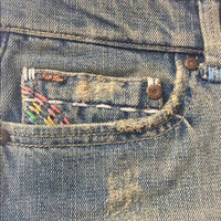 Joe's Jeans with Rainbow Embroidery