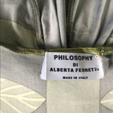Philosophy Di Alberta Ferrety Dress Rayon SZ 6