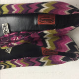 Missoni Flats Bright Fun Shoes. SZ 71/2