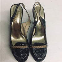 "Kenneth Cole Marcus Brandy 3.75"" Heels Green SZ 7.5"