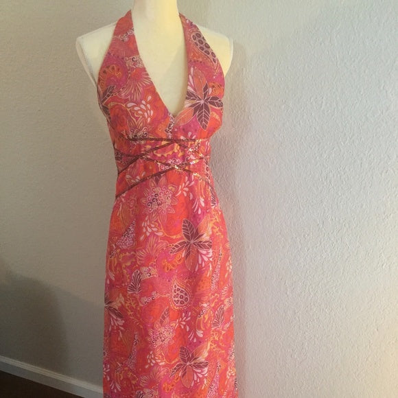 Vintage Jessica McClintock Gunne Sax Floral Red 11