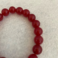 Bracelet Natural Stone Red One Size NWOT