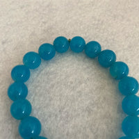 Bracelet Natural Stones Blue One Size