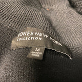 Joans New York Collection Top Black Sequins NWT M