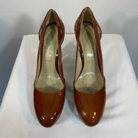 "MaxMara Shoes 4"" Heels Patent Leather Italian SZ9"