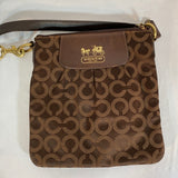 Coach Original Pattern Mini Shoulder Strap Bag