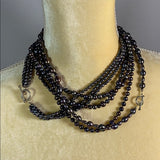 Necklace- 3 Strand Freshwater Pearls