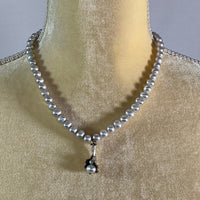 Necklace- Fresh Water Pearls & Sterling Silver