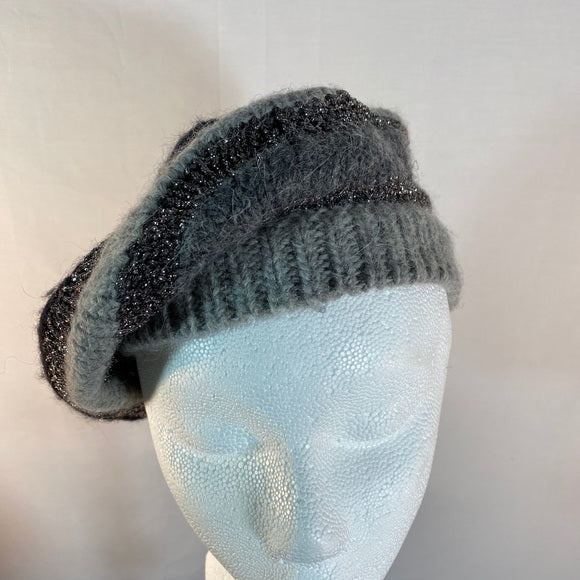 Juicy Couture Beret Hat Knitted Stylish NWOT