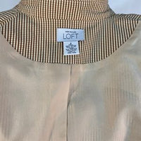 Ann Taylor Loft Woman Light Coat Fully Lined SZ 4