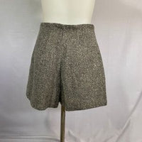 Esprit Skirt/ Shorts Wool Blend Grey & White SZ 4