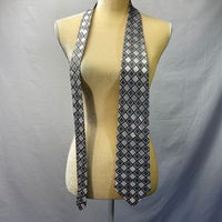 Pronto Uomo Blue Diamond Patterned Tie