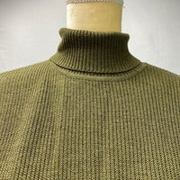 Eileen Fisher Olive Turtle Neck Sweater