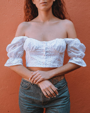 Romantic Bustier Top