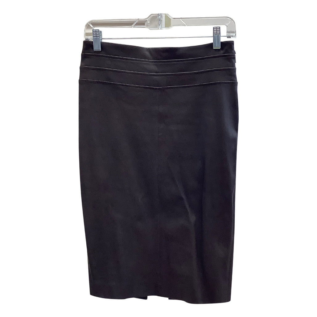 Brunello Cucinelli Leather Skirt