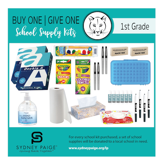 BUY 1 GIVE 1 School Kits - LP (1st Grade)