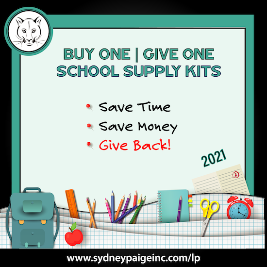 BUY 1 GIVE 1 School Kits - LP (4th Grade)