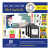 BUY 1 GIVE 1 School Kits - RHEEM (4th Grade)