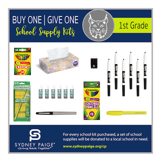 BUY 1 GIVE 1 School Kits - CP (1st Grade)