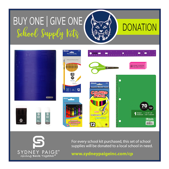 BUY 1 GIVE 1 School Kits - CP (4th Grade)