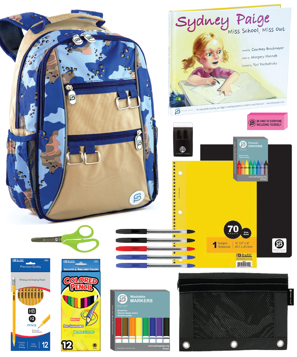 Magic Soccer Club | Backpack + School Supplies Kit Donation