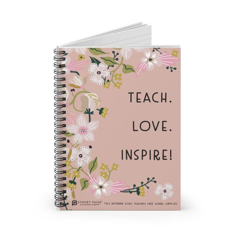 Notebook | Teach Love Inspire