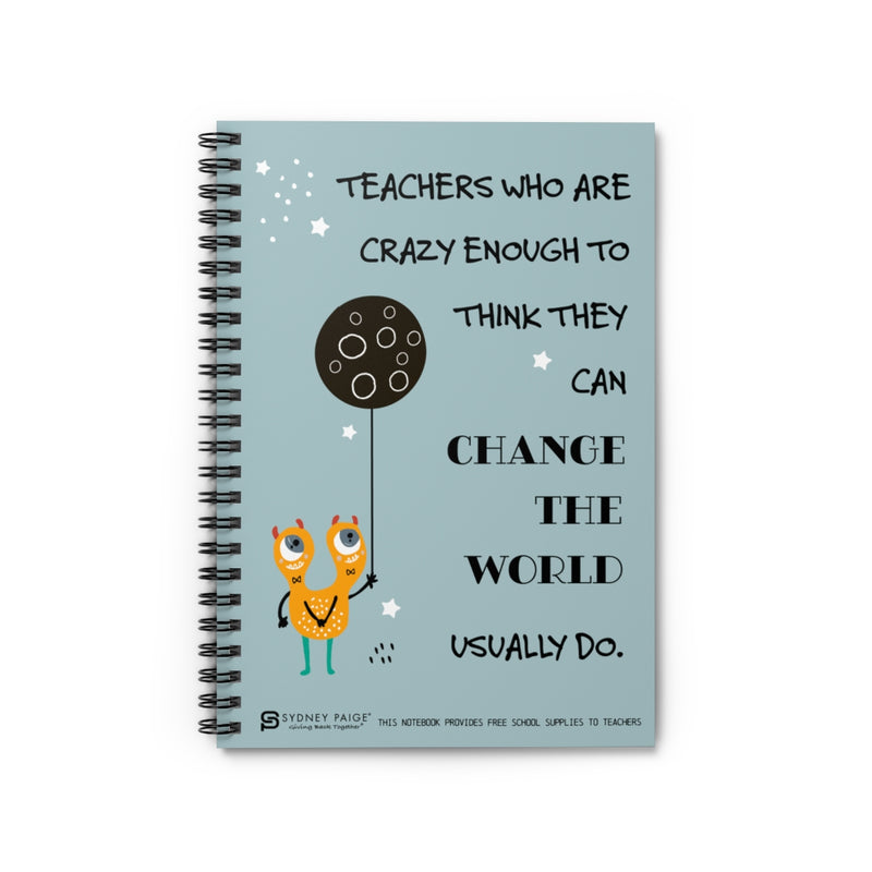 Notebook | Teachers Change the World