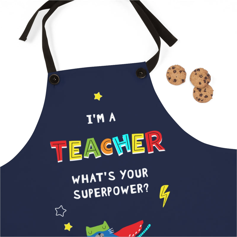 Apron | Teacher Superpower - Cat