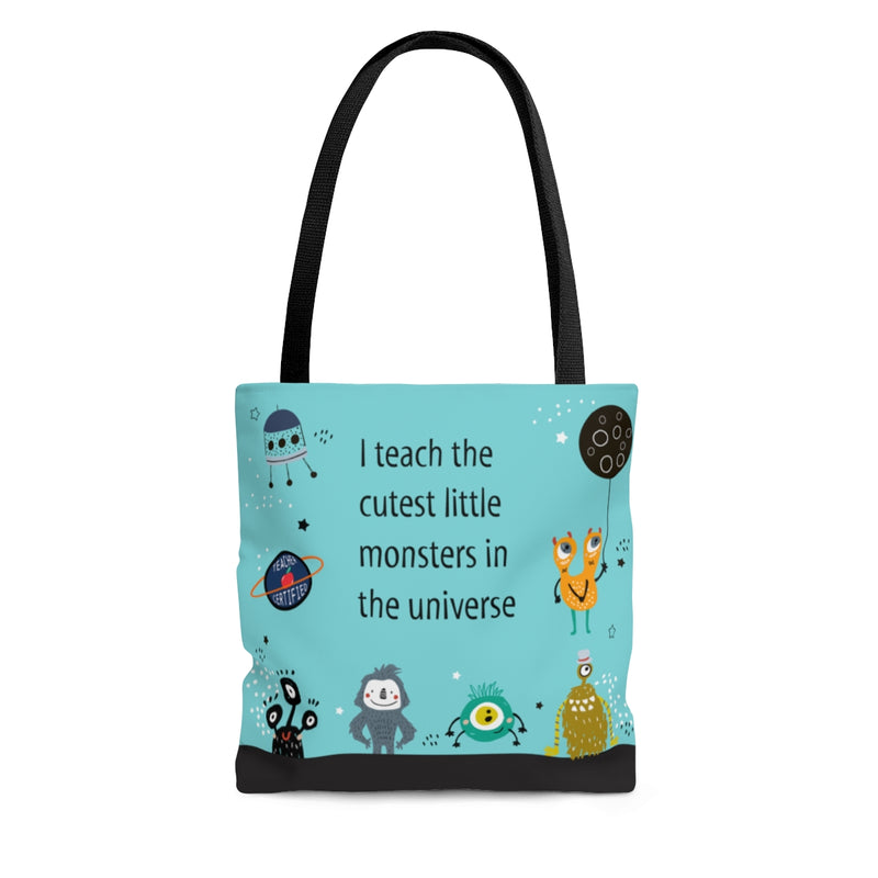 Tote Bag | Teacher Lil Monsters - Small