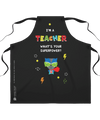 Apron | Teacher Superpower - Raccoon