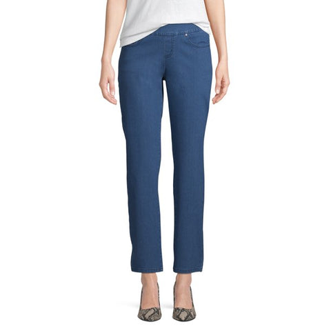 Time and Tru Woven 5 Pocket Pull-On Pant Women's