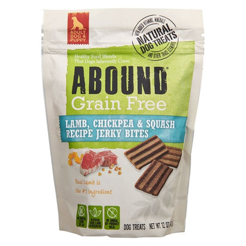 Abound Lamb, Chickpea & Squash Recipe Grain Free Jerky Bites -- 12 oz