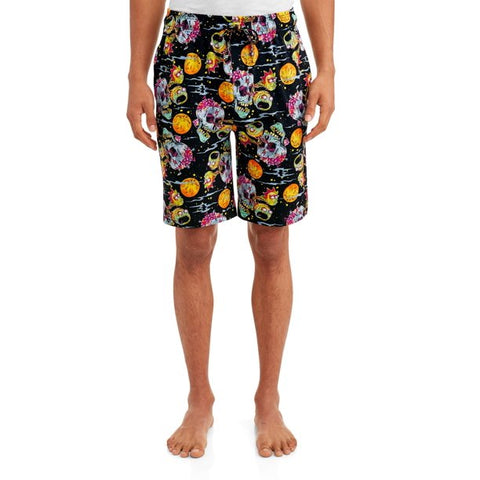 Rick & Morty Men's Psychedelic Nightmare Jam Shorts