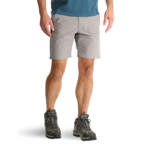Wrangler Men's Outdoor Back Elastic Flat Front Short