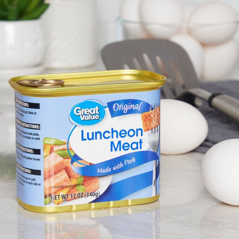 (3 Pack) Great Value Luncheon Meat, 12 oz