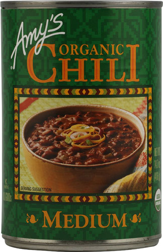 Amy's Organic Chili Medium -- 14.7 oz