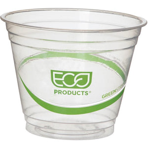 Eco-Products GreenStripe Cold Cups, Clear, 1000 / Carton (Quantity)