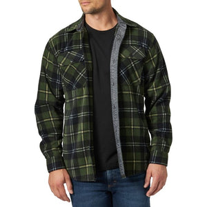Wrangler Men's Long Sleeve Fleece Shirt