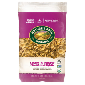 Nature's Path Organic Breakfast Cereal, Mesa Sunrise, 26.4 Oz Bag