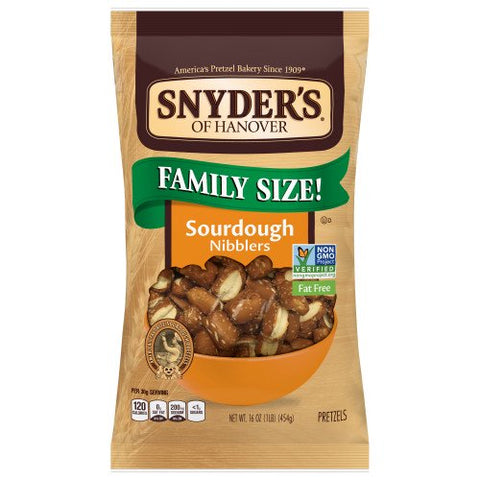Snyder's of Hanover Pretzels, Sourdough Nibblers, 16 Oz