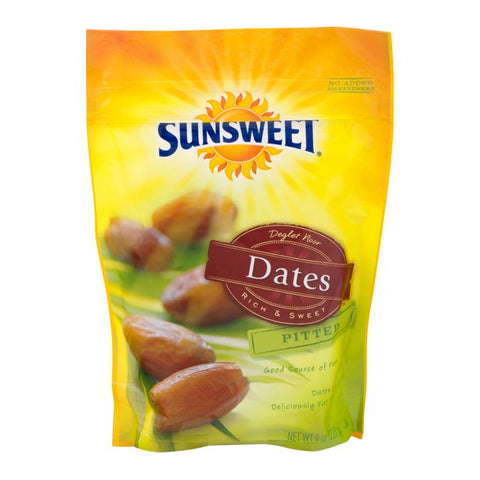 Sunsweet Dates, Pitted, 8 oz