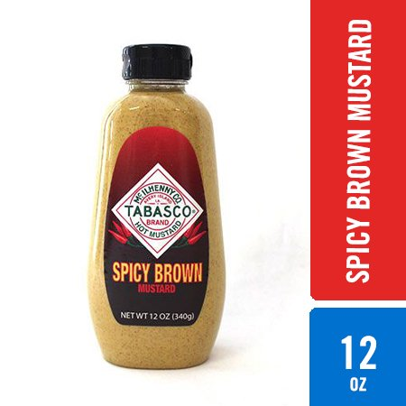 TABASCO Spicy Brown Mustard 12oz