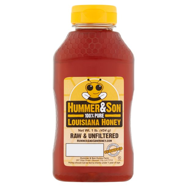Hummer & Son 100% Pure Louisiana Honey, 16 oz