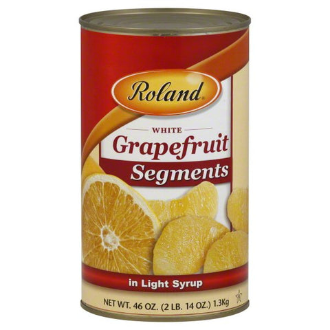 Roland White Grapefruit Segments in Light Syrup, 46 oz