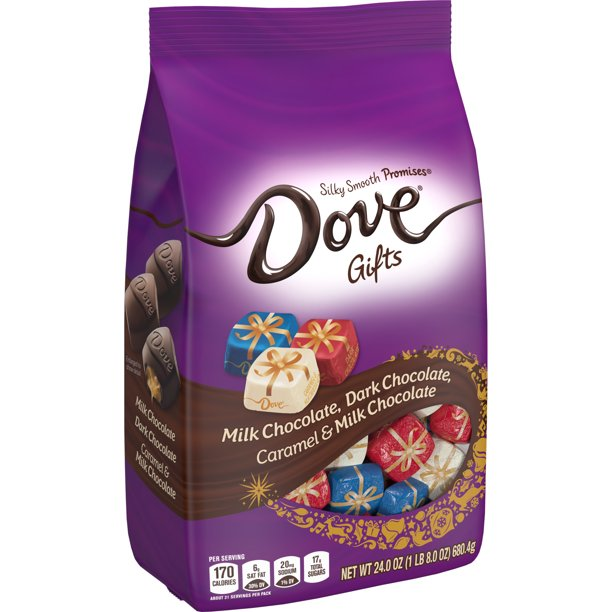 DOVE PROMISES Holiday Variety Chocolate Candy 24oz