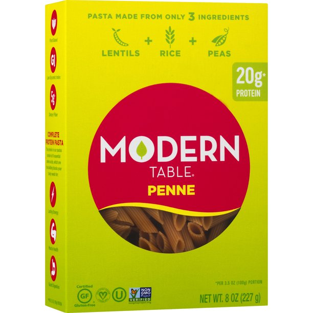 Modern Table Pasta Penne, 8.0 OZ