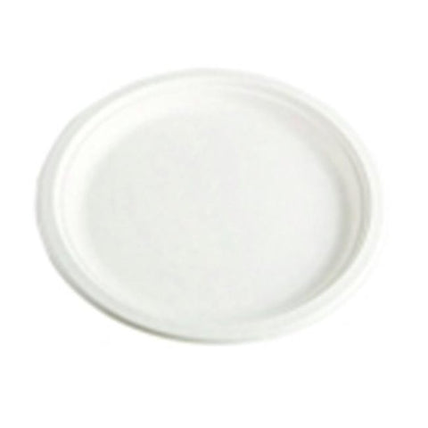 Chinet Classic White Heavy Duty Microwaveable Paper Plate - 6 W in. - Pack 125