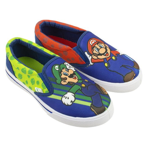 Mario Luigi Embossed Casual Sneakers (Toddler Boys)