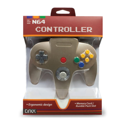 CirKa Controller for N64 (Gold)