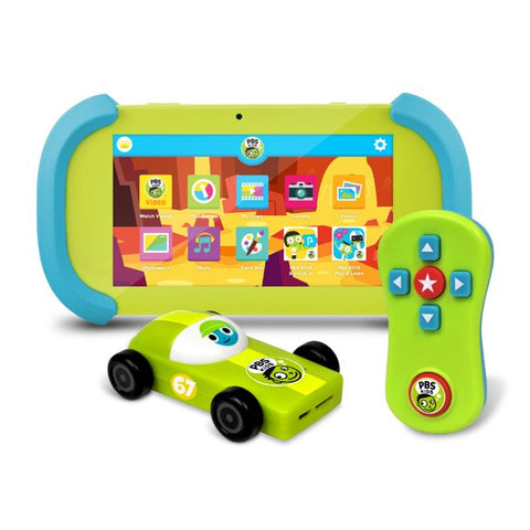 "PBS Kids Playtime Pad 7"" HD Kid-Safe Tablet (Ages 2+) + PBS KIDS HDMI Streaming TV Stick Plug & Play"